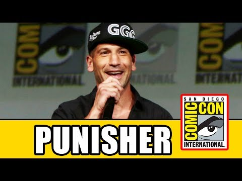 PUNISHER Surprise Appearance At THE DEFENDERS Comic Con Panel
