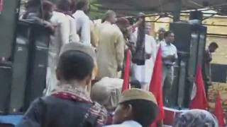 Aafia - Dr. Fowzia address to Sindhi cultural Ajrak topi day