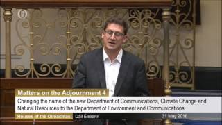 Government confirm 'environment' to be restored to new Dept of Comms, Climate Action and Environment