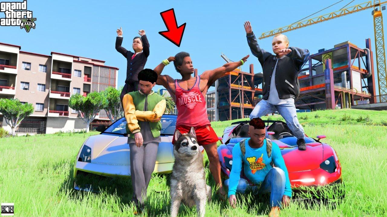 Download GTA 5 CLINTON KIDS REAL LIFE MOD #1