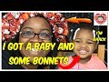 MY BONNETS ARE READY AND MY BABY IS BACK !!!