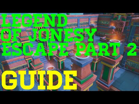 How To Complete The Legend Of Jonesy Escape Part 2 By Abizzle5 - Fortnite Creative Guide