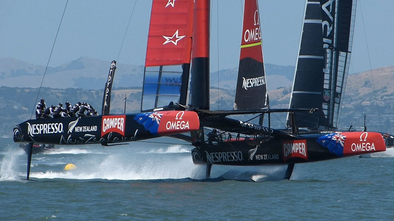 America\u0027s Cup: Teams Foiling on San Francisco Bay, May 24 2013 ...