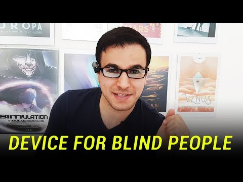 A Device For Blind And Visually Impaired People