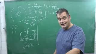 Eksempel - træning til Fysik B eksamen - Ellære med seriel og parallelforbindelse. Højspænding