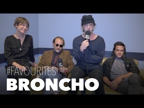 "BRONCHO on ""Double Vanity"" and crazy touring in Europe - Toronto Interview"