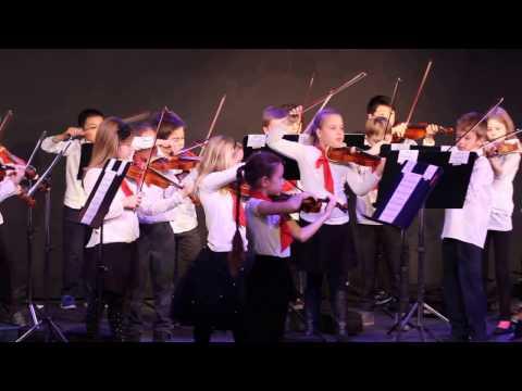 Joseph's 3rd Grade Winter Concert at American International School in Vienna (AISV) - Part 1