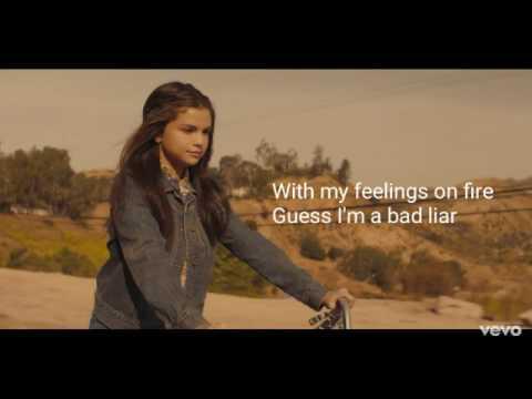 Bad Liar Lyrics - Selena Gomez