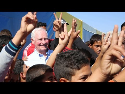 David Johnston on Middle East security, refugee resettlement, and development issues