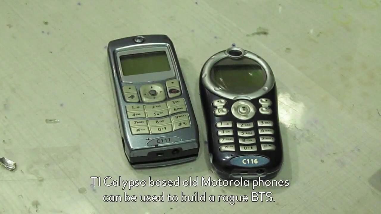 IMSI Catcher w/ USRP and w/ Calypso phones (SMS spoofing)