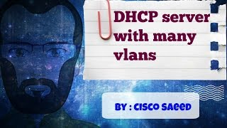 dHCP server with many vlans HD