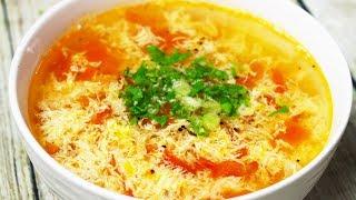 Cách Làm Món CANH TRỨNG CÀ CHUA Ngon Đúng Điệu Dễ Làm   Nhung Cooking