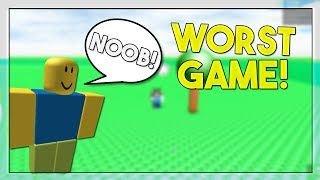 *WORST* ROBLOX GAME (BUILDING SIMULATOR)