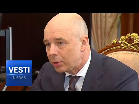 President Putin Meets With Head of Ministry of Finance in the Kremlin to Discuss New Tax Measures