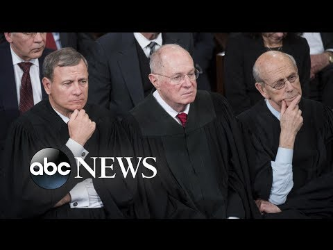 Justice Anthony Kennedy announces his retirement