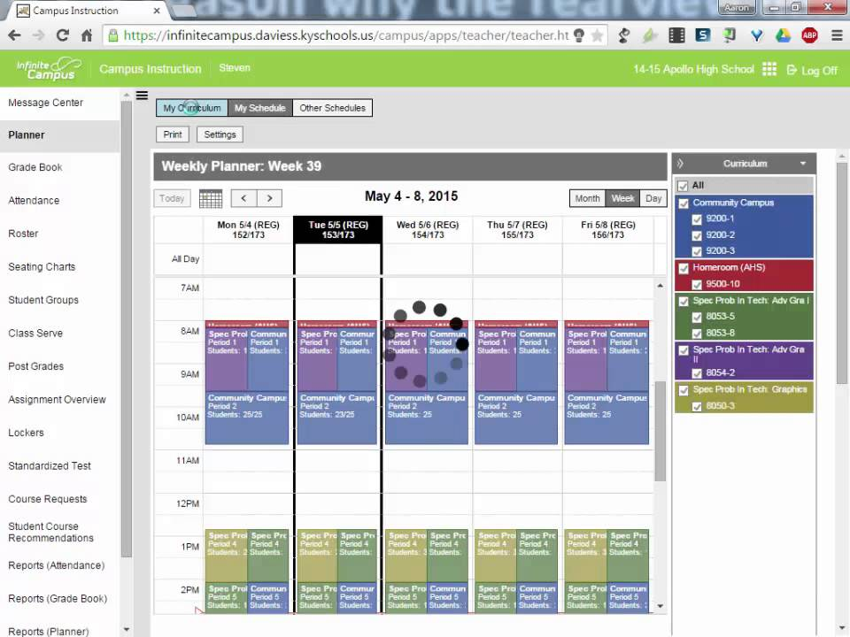 Infinite Campus: Campus Instruction Gradebook Training ...
