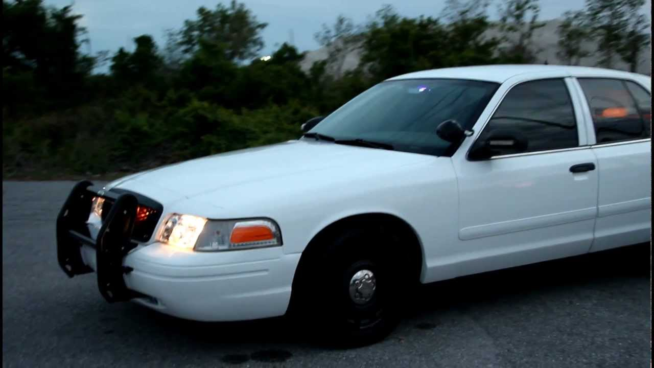 Ford Crown Victoria Police Interceptor >> 2003 FORD CROWN VICTORIA P71 108K White Security Vehicle ...