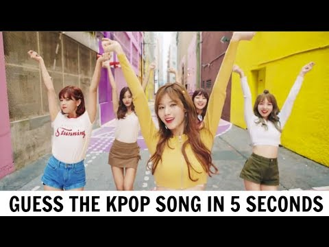 GUESS THE KPOP SONG BY IT'S FIRST 5 SECONDS #4