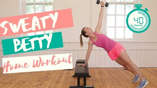 SWEATY BETTY - Home Workout for Women!