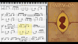 Paragon Rag by Scott Joplin (1909, Ragtime piano)