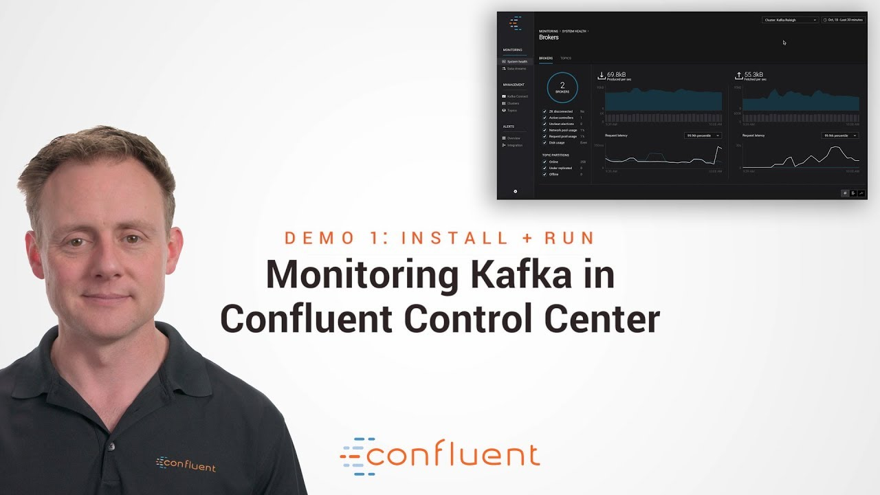 Demo 1: Install + Run | Monitoring Kafka in Confluent Control Center