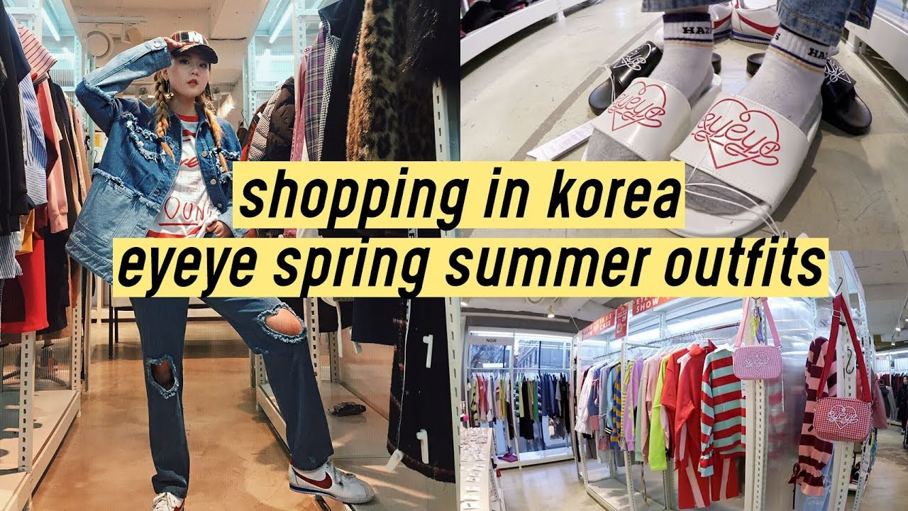 Shopping in Korea: Eyeye Spring Summer 2018 Outfits | Q2HAN 3