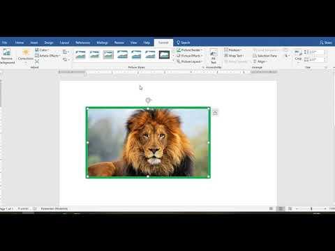 Formatarea imaginilor Microsoft