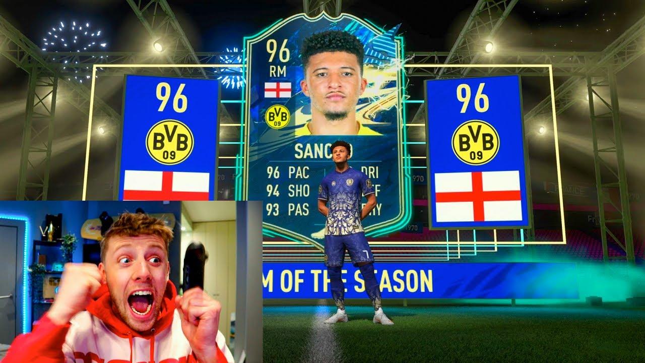 W2S PACKS A 3,000,000 COIN TEAM OF THE SEASON!! -  FIFA 21