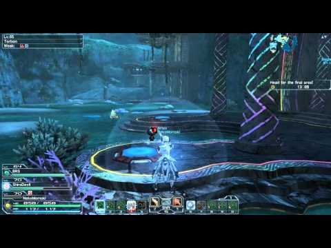 [PSO2]Time Attack Quest/Marathon Training Vopar-โอ้ทะเลแสนงาม