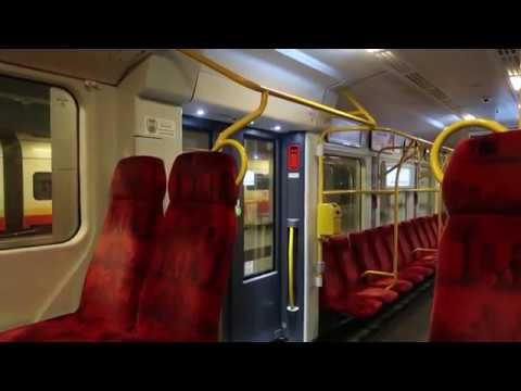 Warsaw Chopin Airport to City Centre Train Ride 6 March 2019