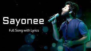 Arijit Singh: Sayonee Title Track (Lyrics) | Jyoti Nooran | Joy-Anjan, Junoon Band, Alaukik Rahi