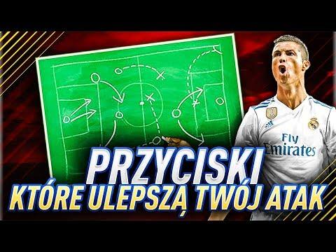 PRZYCISKI KTÓRE ULEPSZĄ TWÓJ NAPAD | FIFA 18 PORADNIK