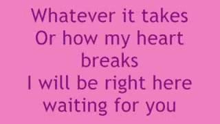 Right Here Waiting - White Dawg (with lyrics)