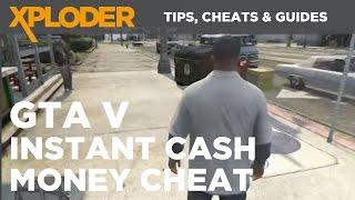 GTA 5 Cheats: Instant Cash Money Cheat   Xploder Tips, Cheats & Saves
