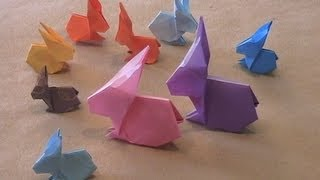 Origami Rabbit By Stephen O'hanlon