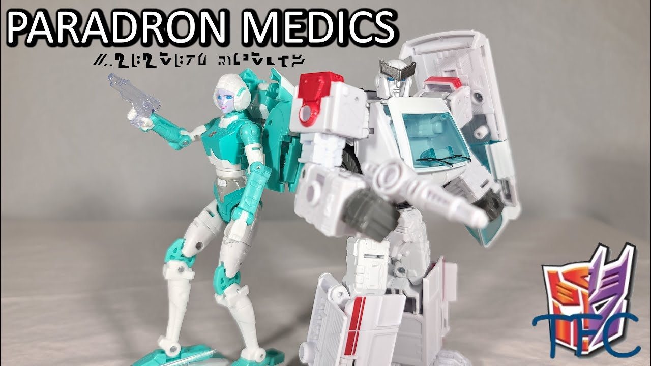 TF Collector Earthrise Paradron Medics Review!