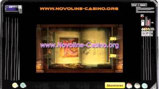 Novomatic Book of Ra Slot machine best EU Slot 2014 Big Wins Feature bonus round