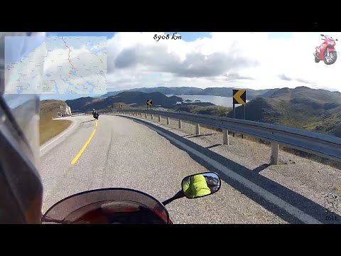Motorcycle trip - Sweden, Norway, Finland, Estonia, Latvia, Lithuania (2013)