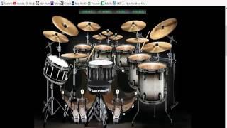 Senam Jari Samsons Lara Cover Drummer