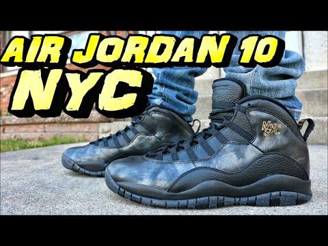 Air Jordan 10 NYC - Review + On Foot