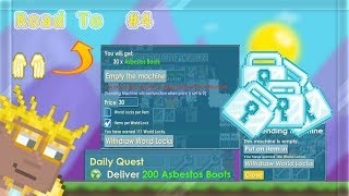 PROFIT 1000WLS😍😱 | #4 Road To Golden Angel Wing | Growtopia