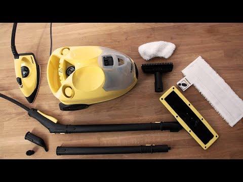 3a9306e58a3 Unboxing af Kärcher SC4 EasyFix Iron Kit Gulvvasker - YouTube