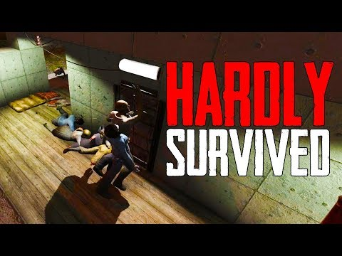 HARDLY SURVIVED DAY 28 HORDE! - 7 Days to Die [Season 2 - #29]
