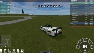T. F. B. GAME PLAY Roblox Vehicle Simulator Pt. 3 buying the Zonda R
