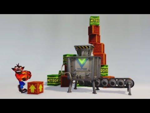 Crash Bandicoot N. Sane Trilogy | Vicarious Visions Intro Cutscene & Main Menu!