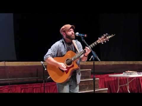 "Joe Stevens performs ""Proudly"" by Bennett Wallace"