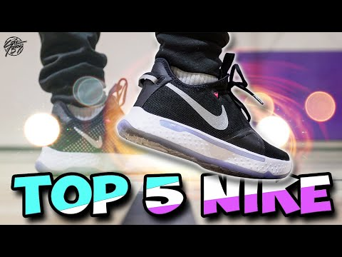 Top 5 Nike Basketball Shoes You Can Get Right Now!