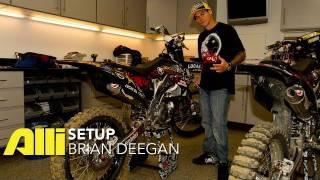 Brian Deegan FMX Bike Check - Alli Setup