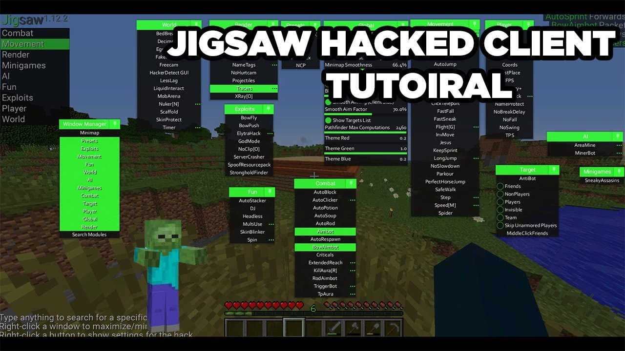 best minecraft hack client 1.13