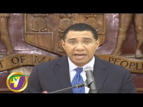 TVJ Midday News: PM Declare SOE For Clarendon & St Catherine -  September 5 2019